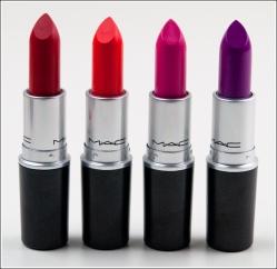 For the Beauty Novice: MAC Lipstick Finishes – beepea